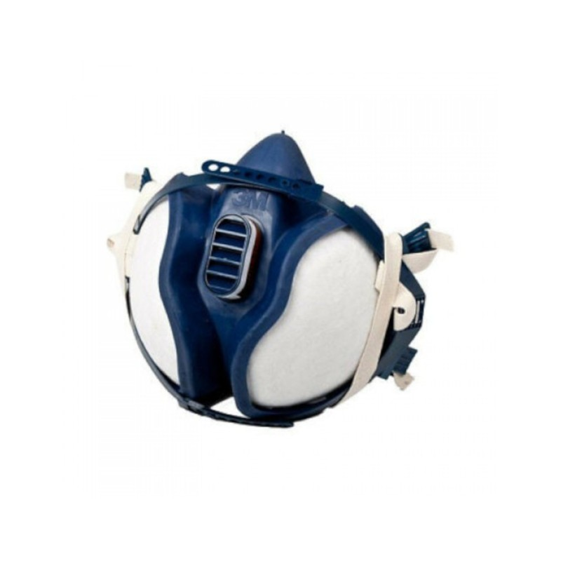 Maschera 3M 06941 FFA1P2 Respiratore riutilizzabile per polveri vapori e vernici Home3M