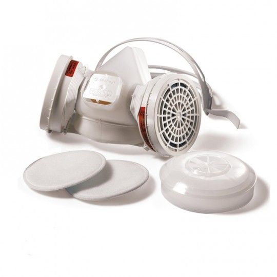 Semimaschera respiratore HONEYWELL FREEDOM SPERIAN FFA1 con prefiltri sostituibili HomeSPERIAN HONEYWWELL