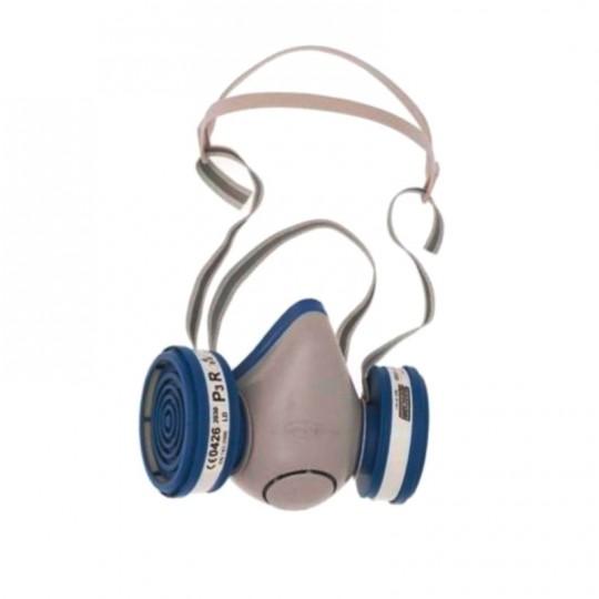 Semimaschera Respiratore Spasciani Duetta con filtri LD P3 protezione virus e batteri Home