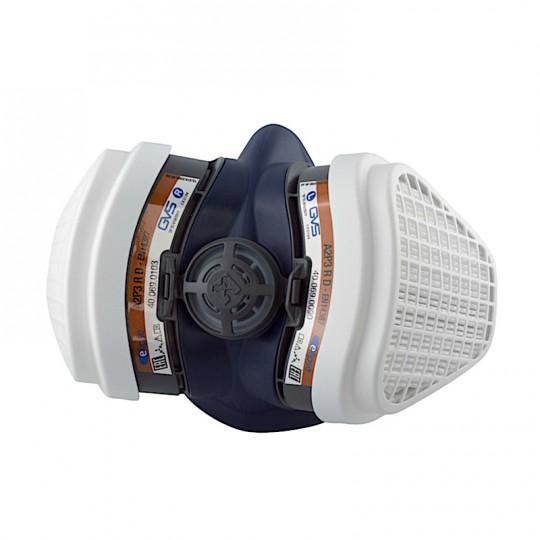 Semimaschera GVS per verniciatura Elipse A2P3 RD ALTA PROTEZIONE filtri sostituibili HomeGVS