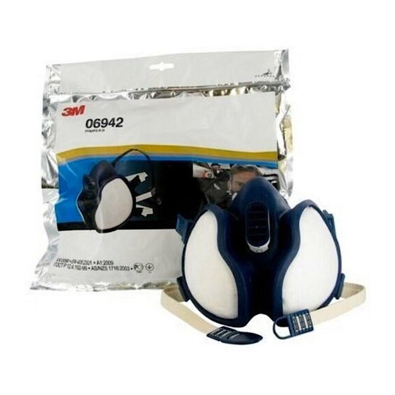 Maschera 3M 06942 FFA2P3 Respiratore riutilizzabile per polveri vapori e vernici Home3M