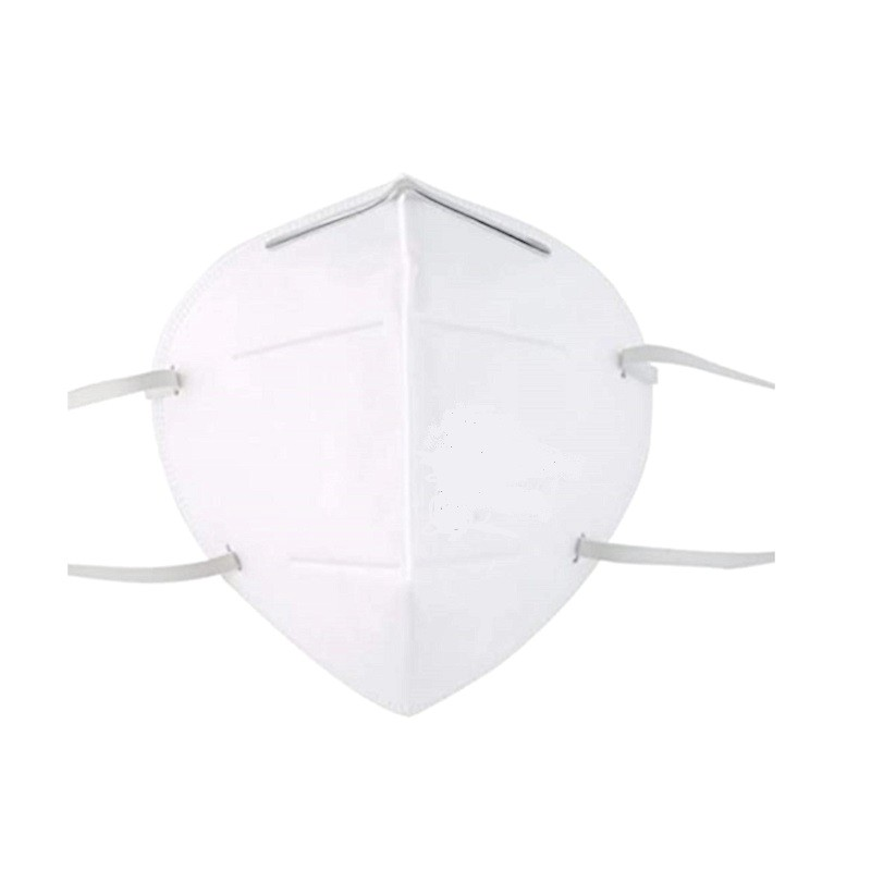 Maschera per polveri e vapori Classe FFP2 / KN95 CE con elastici HomeVARIABILE