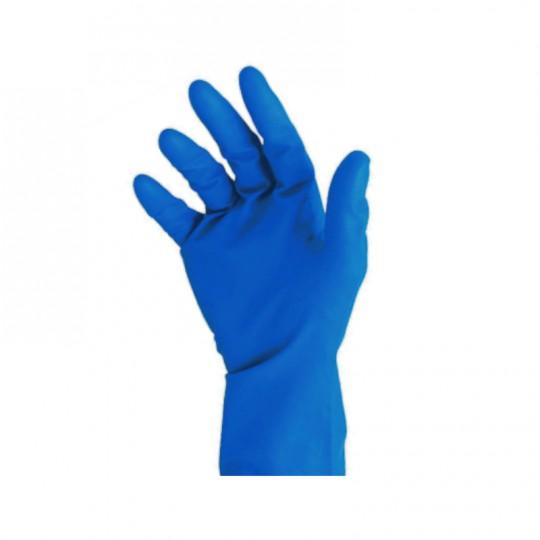 Guanto blu in doppio lattice HomeLADY'S LINE®