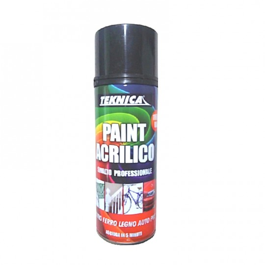 Trasparente acrilico lucido o opaco per qualsiasi supporto  spray 400ml
