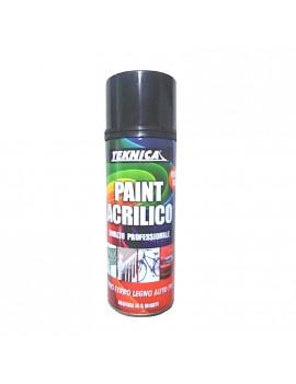 Trasparente acrilico lucido o opaco per qualsiasi supporto spray 400ml HomeTEKNICA