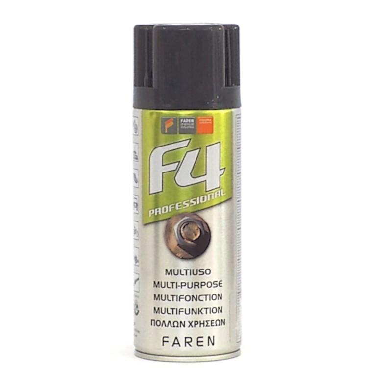 Sbloccante protettivo lubrificante sgrassante universale spray Faren 400ml Home