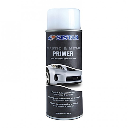 Plastic metal primer spray - Primer metalli e plastica Sistar 400ml Home