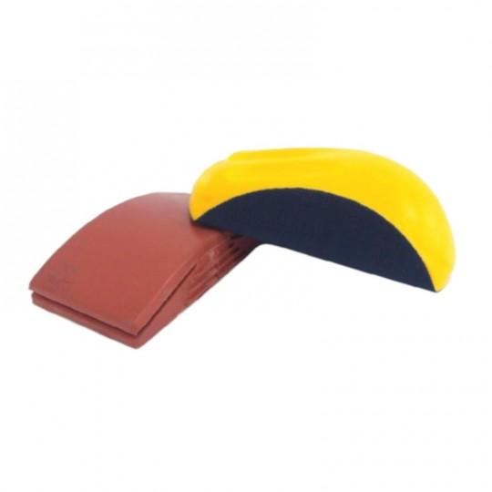 Tampone/tassello manuale professionale da carteggiatura in gomma con e senza velcro HomeLADY'S LINE®