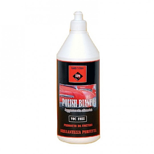 Polish abrasivo Lady's Line®  bianco da 250gr - 500gr - 1000gr rimuove graffi e lucida