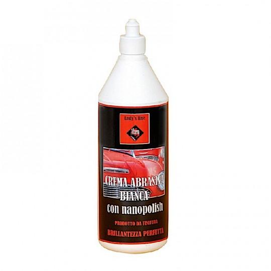Crema abrasiva bianca lucidante - All in one - TUTTO IN UNO con NANO-POLISH