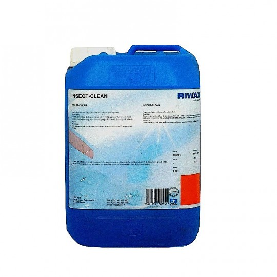 Detergente togli moscerini per auto e moto - insect clean RIWAX 5 lt HomeRIWAX