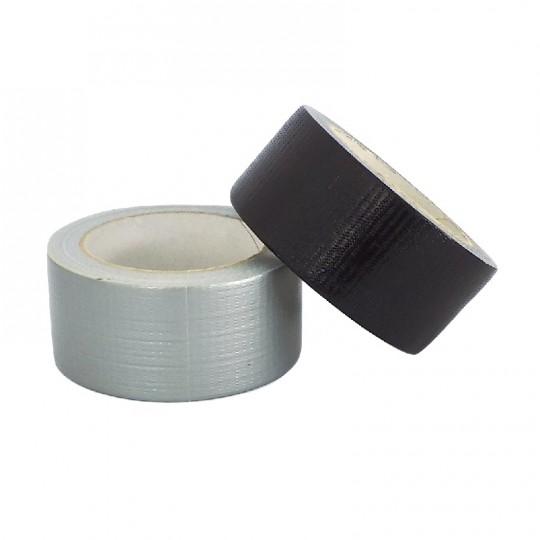 Nastro in tessuto americano resistente 50mm x 50mt nero o grigio 1 pz HomeLADY'S LINE®