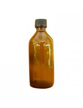 Flacone tondo in vetro ambrato scuro con tappo ermetico 100ml e 200ml HomeLADY'S LINE®