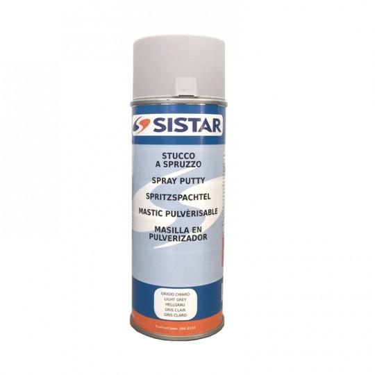 Stucco riempitivo grigio spray SISTAR ad alto spessore 400 ml HomeSISTAR