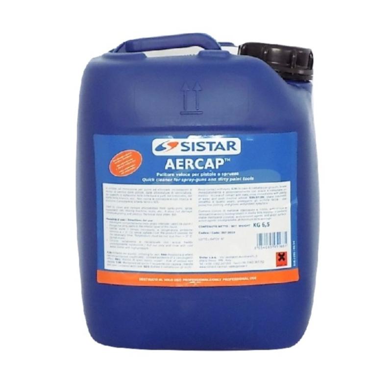 Detergente Discrostante pulitore per pistole/aerografi 6,5kg AERCAP Home