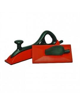 Lima Tampone per carteggiatura velcrata da 70x420mm e 115x230mm con aspirazione HomeLADY'S LINE®