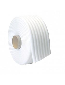 Rotolo cordolo spugnoso bianco adesivo mascheratura 13mm x 11mm x 50mt HomeLADY'S LINE®