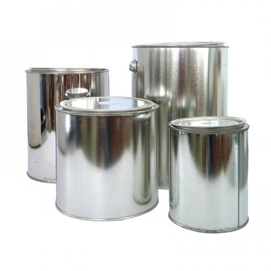 Barattolo ERMETICO in metallo grezzo con coperchio a pressione HomeLADY'S LINE®