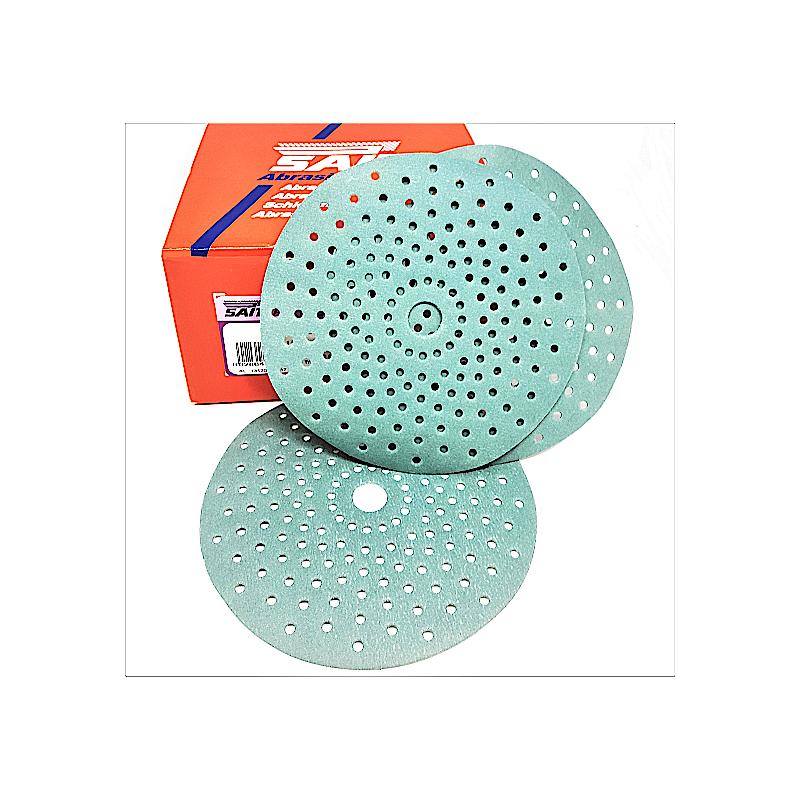 Disco abrasivo ceramicato Sait multiforato velcrato P80-120-240-320-400 HomeSAIT