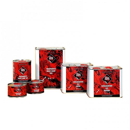 Trasparente lucido acrilico Lady's Line® facilissima applicazione UHS 2:1 2:1 HomeLADY'S LINE®