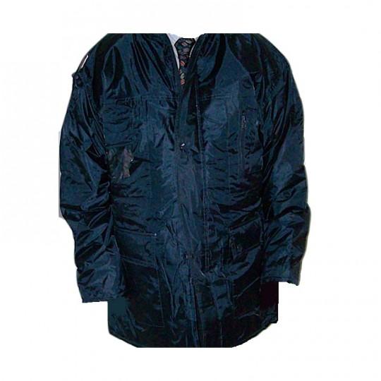 Giaccone Parka blu in nylon...