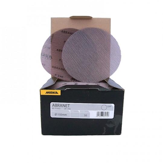 Disco abrasivo ORIGINALE a rete MIRKA ABRANET grane varie Ø150mm Home