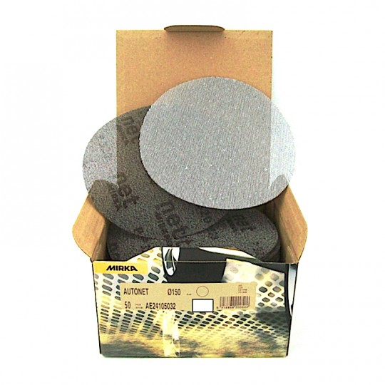 Disco abrasivo a rete MIRKA AUTONET grane varie Ø150mm originali HomeMIRKA