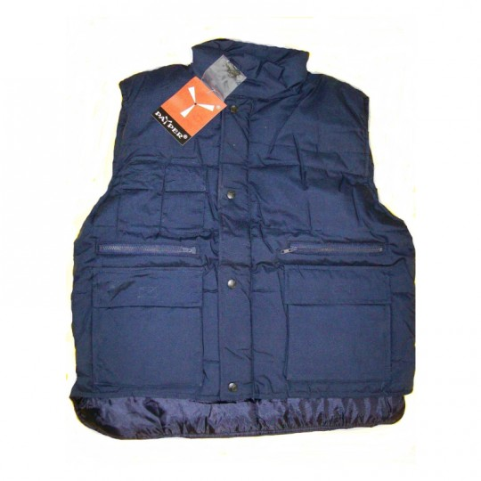Gilet blu antifreddo in...