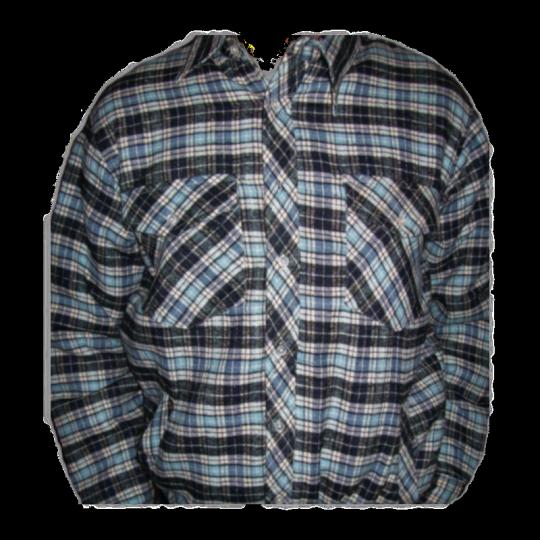Camicia - giubbino imbottita felpata da lavoro scozzese WORKER Home