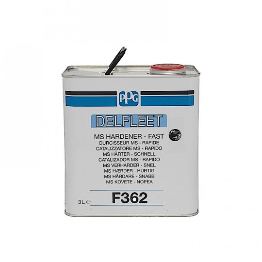 Catalizzatore Medio Solido Rapido MS PPG F362 3 lt per smalti e trasparenti HomePPG