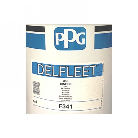 Resina poliuretanica F341 Binder PPG 20 lt legante alte prestazioni per smalti 2k HomePPG