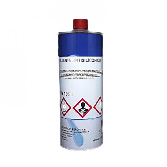 Antisilicone Feroni Diluente Antisiliconico per sgrassaggio supporti 1lt e 5lt HomeFERONI