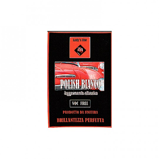 Polish abrasivo Lady's Line® bianco da 250gr - 500gr - 1000gr rimuove graffi e lucida HomeLADY'S LINE®