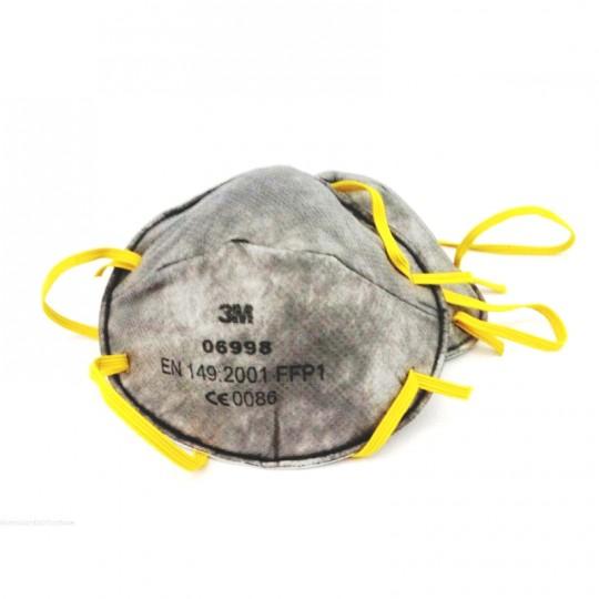 MASCHERA CARBONI ATTIVI PROTETTIVA FFP1 06998 3M A NORME EN149/01+A1/09 1 PZ Home3M